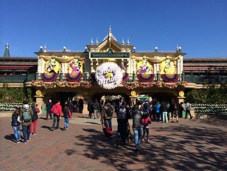 Disneyland indgangen
