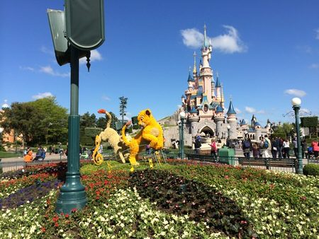 Torneroseslottet i Disneyland Paris